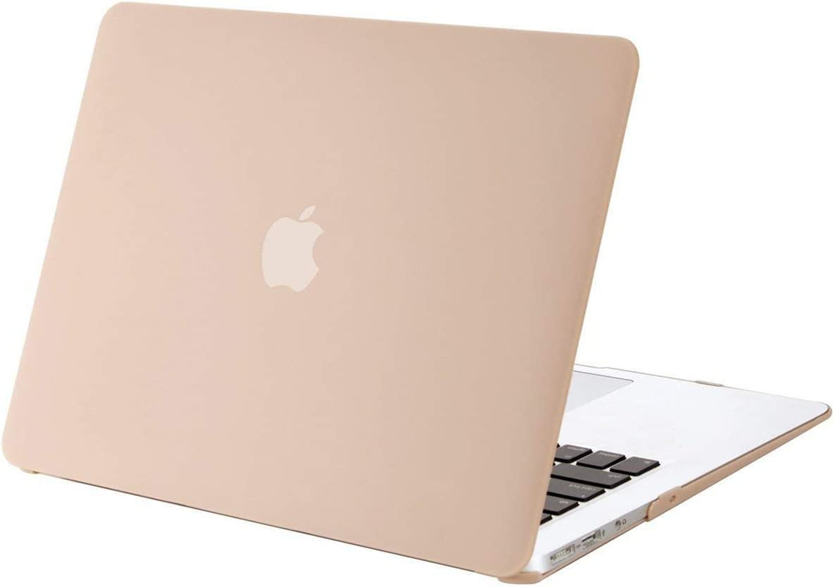 MOSISO MacBook Air 13 inch Case (Models: A1369 & A1466, Older Version 2010-2017 Release), Plastic Hard Shell Case Cover Only Compatible with MacBook Air 13 inch, Camel