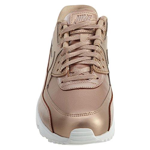 Nike Wmns Air Max 90 Premium Lifestyle Sneakers Metallic Rood Brons / Metaal Rood Brons-brons