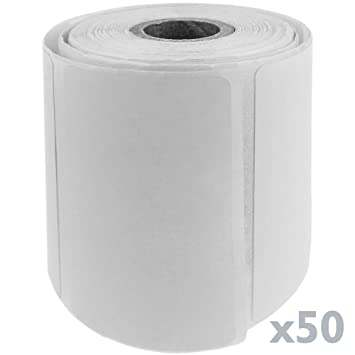 BeMatik - Rollo Bobina de 500 Etiquetas Adhesivas para Impresora ...