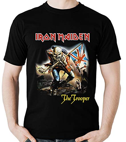 Camiseta Iron Maiden The Trooper Camisa (banda Rock) Blusa
