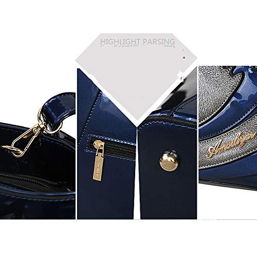 Bag Pinchu Moda Forma Messenger E Borsa Pacchetto black Cigno 2018 Colore Personalità Creativa Portatile Blue Da Donna Cucitura Nuovo Europeo Di Marea Americano xrwrtzOIq
