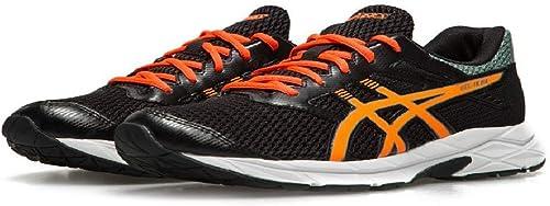 Monumento Alivio Estadístico  TITLE ASICS Gel-Ikaia 7 Men's Running Shoe - Black/Hot Orange/Stormy Sea:  Amazon.co.uk: Shoes & Bags