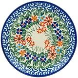 Polish Pottery Saucer 5-inch Blissful Daisy