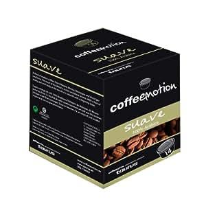 Coffeeemotion - Cafe Suave Selección Acabicas Etiopia, Mexico, Nicaragua Y Brasil. Pack 14 Capsulas.
