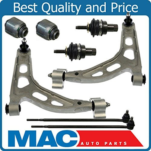Mac Auto Parts 142120 Explorer Aviator Rear (2) Upper Control Trailing Arm Tie Rods 8Pc Kit (Arm Rod Trailing)