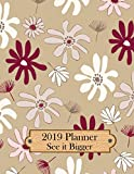 img - for See it Bigger 2019 Planner: 8.5x11 - Plan Ahead - See It Bigger Planner Calendar to Set Goals and Crush Them | Improve Productivity, Time Management, ... Improvement (The Goal Planner) (Volume 1) book / textbook / text book