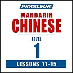 Chinese (Mandarin) Level 1 Lessons 11-15
