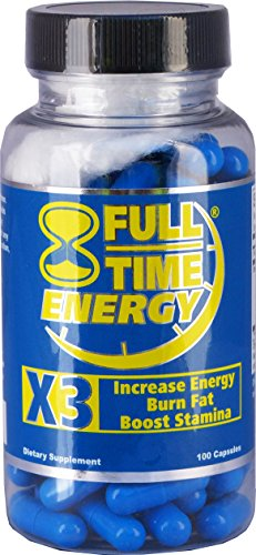 Full Time Energy Pills 100 Capsules