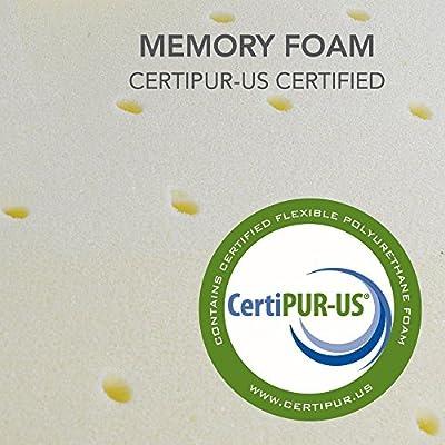 Classic Brands 10-Inch Expression Memory Foam RV Plush Mattress