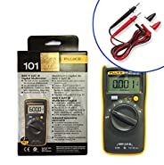 Fluke 101 Basic Digital Multimeter + TL75 Test Lead Pocekt Portable Meter Equipment Industrial