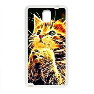 Creative Abstract Cat Custom Protective Hard Phone Cae For Samsung Galaxy Note3