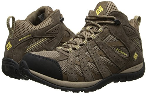 Columbia Women's Redmond Mid Waterproof Trail Shoe,Oxford Tan/Sunlit,11 M US by Columbia (Image #6)
