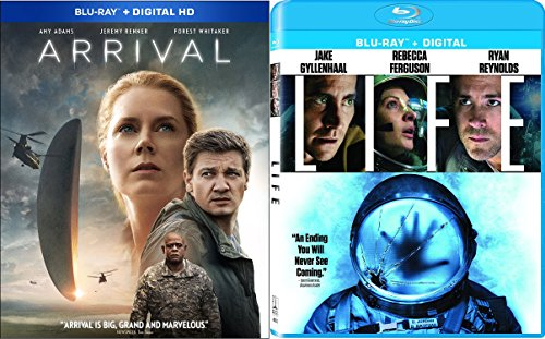 Alien Life 2-Blu-ray Bundle - Arrival (Blu-ray + Digital HD) & Life (Blu-ray + Digital) 2-Movie Collection