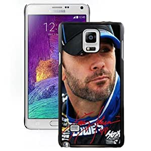 Grace Protective Note4 Case with Jimmie Johnson 2 Diy For SamSung Galaxy S4 Case Cover N910S N910C Case in Black