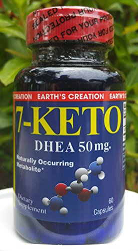7-KETO DHEA By Earth's Creation (50mg)