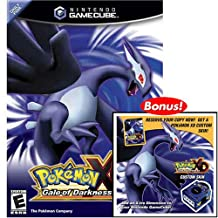 Nintendo Gamecube Console with Pokemon XD Gale of Darkness
