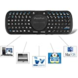 iPazzPort Portable Mini Wireless Keyboard with Touchpad for Windows Linux Android Google Smart TV KP-810-09