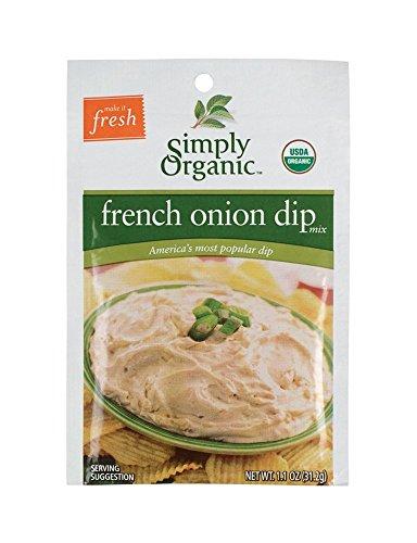 Simply Organic French Onion Dip Mix -- 1.1 oz (Simply Organic Organic Chips)