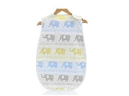 Guardería Bebé Bebé recién nacido Summer Anti-kick Sleeping Bag Nido de dormir de tela