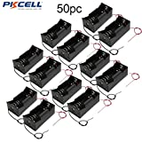 1 Slot D Cell Battery Holder With Two Wires (50pc)