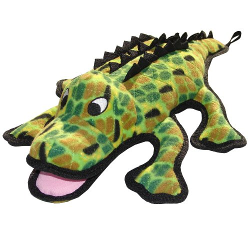 Tuffy's Gary Gator Sea Creature's Dog Toy, My Pet Supplies