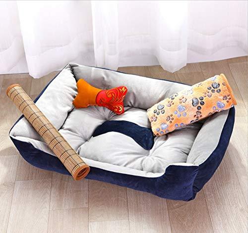 B S(60X45X15CM) B S(60X45X15CM) Dog House Pet Nest Teddy golden Retriever Dog Bed Cat Litter Dog Mat Pet Supplies Nest
