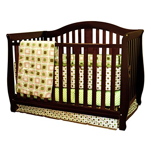 Athena AFG Desiree 4-in-1 Convertible Crib Espresso