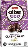 organic black truffles dark chocolate, 2.82 ounces