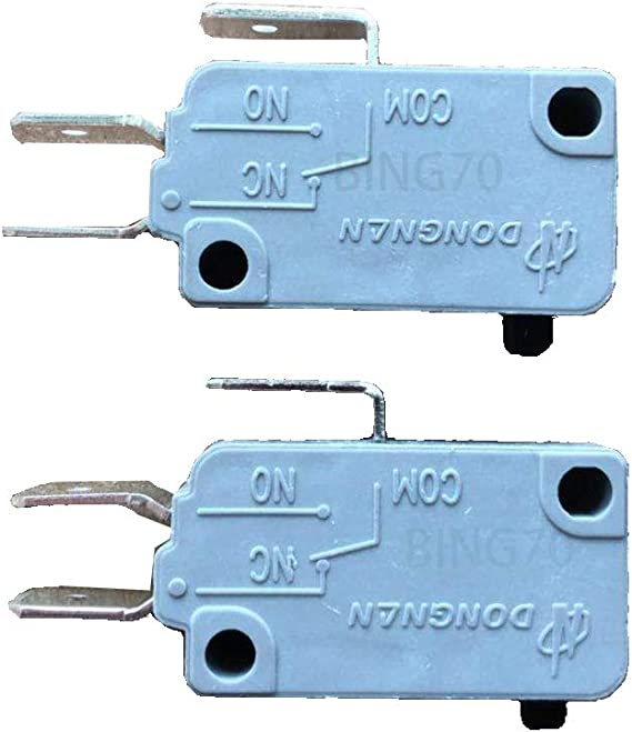 KW3A 16A 125V//250V Microwave Oven Door Micro Switch Normally Close ML