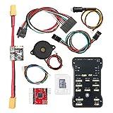 Multicolor LED indicator V2.4.6 32Bits Flight Controller Board Kit for R/C Airplanes - Black