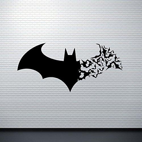Muicatte Creative 3D DIY PVC Black Bat Wall Sticker Decal Halloween Decoration Home (Eh Halloween Party)