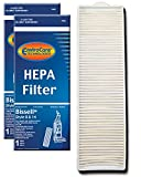 EnviroCare Replacement Post Motor HEPA Filter for Bissell Style 8 & 14 Uprights 2 Filters