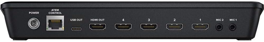 Amazon Com Atem Mini Pro Blackmagic Design Hdmi Live Stream Switcher Authorized Reseller Home Audio Theater