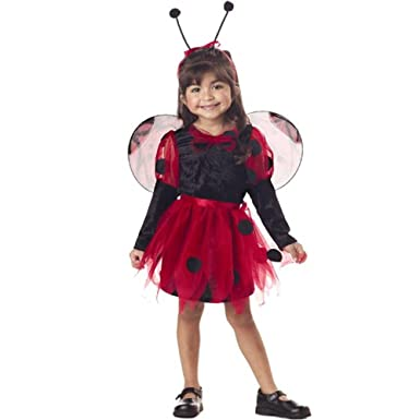 Toddler Precious Ladybug Halloween Costume (2-4T)  sc 1 st  Amazon.com & Amazon.com: Toddler Precious Ladybug Halloween Costume (2-4T): Clothing