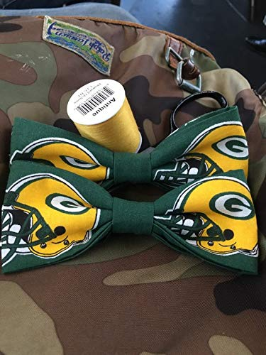 Green Bay Packers NFL logo adult bow tie