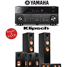 Yamaha AVENTAGE RX-A760BL 7.2-Channel Network A/V Receiver + Klipsch RP-260F + Klipsch RP-440C + Klipsch RP-250S - 5.0 Reference Premiere Home Theater System