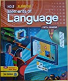 Holt Elements of Language Florida Student Edition Grade 11, Warriner, 0030992095