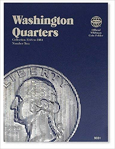 [0307090310] [9780307090317] Washington Quarter Folder 1948-1964 (Official Whitman Coin Folder)- Hardcover