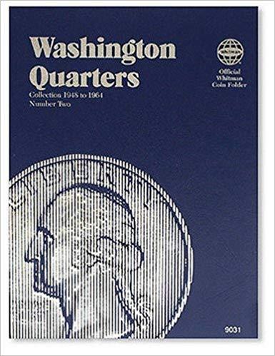 [0307090310] [9780307090317] Washington Quarter Folder 1948-1964 (Official Whitman Coin Folder)- Hardcover
