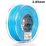 eSUN 3mm Light Blue PLA PRO (PLA+) 3D Printer Filament 1KG Spool (2.2lbs), Actual Diameter 2.85mm +/- 0.05mm, Light Blue, (Pantone 306C)