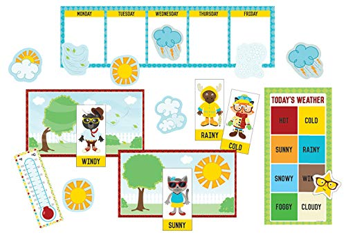 (Carson Dellosa Hipster Weather Mini Bulletin Board Set (110339))