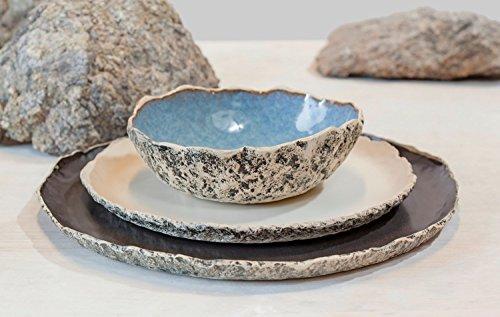 Stoneware dinner setting, Wedding Dinnerware Registry, Handmade organic dinnerware setting, Large ceramic dinner set ,Wedding Birthday gift