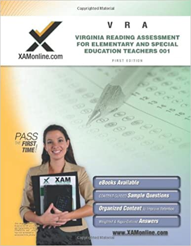 VRA 001 Virginia Reading Assessment for Elementary and