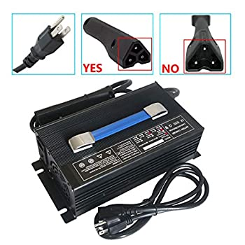 Image of Abakoo New 48V 15A RXV Golf Cart Battery Charger for Ez-Go EZgo TXT with RXV Plug 3 Prong Connector Golf Cart Accessories