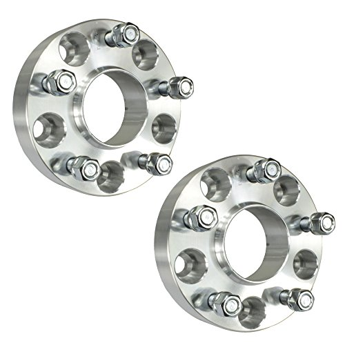 (2pcs 25mm 5x100 Hubcentric Wheel Spacers Adapters   T6 6061 Billet   12x1.5 Studs   57.1mm Hub Bore)