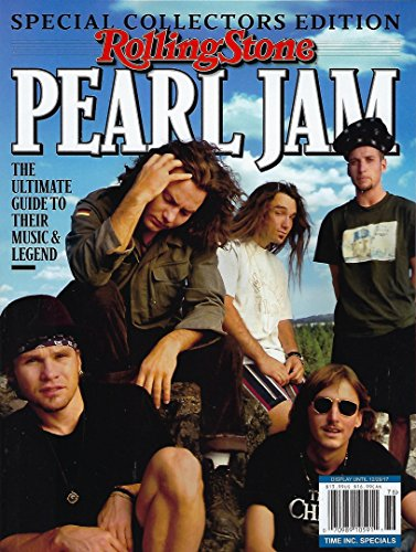 Rolling Stone Special Collector's 2017, Pearl Jam - Stone Rolling Pearl Jam