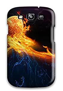 For LLrqQBC16683PgETT Hearth On Fire Protective Case Cover Skin/galaxy S3 Case Cover