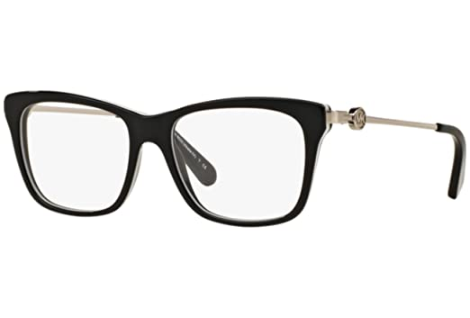 michael kors womens mk 8022 3129 black eyeglasses - Michael Kors Frames