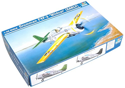 Early Version Fighter (Trumpeter 1/32 F4F3 Wildcat Early Version Fighter Model Kit)
