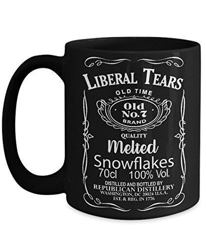 Liberal Tears Black 15oz. Mug - Deplorables Drink Of Choice ()